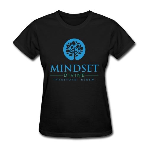mindset-divine-logo-01-womens-t-shirt